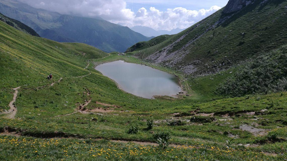 Al lago Branchino da Valcanale